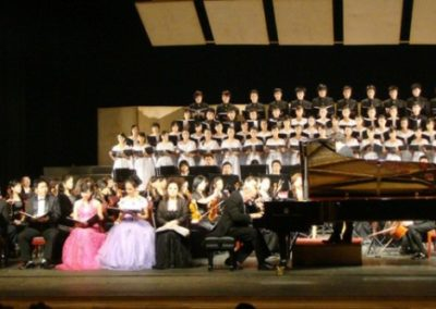 Performing Beethoven's Choral Fantasy for Piano, Orchestra, Chorus and Soloist, Op. 80 in Changsha China