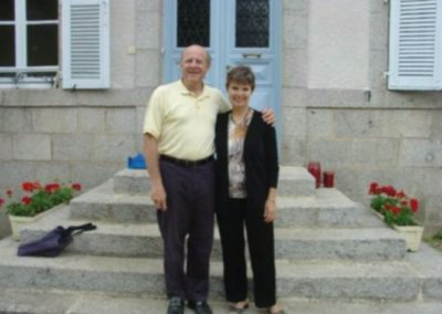 Sam and Deborah Rotman, Judac, France